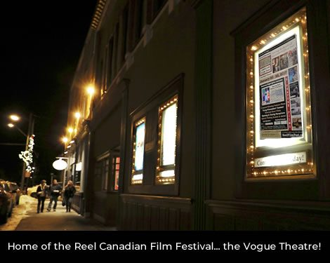 Vogue Theatre, Fernie, BC