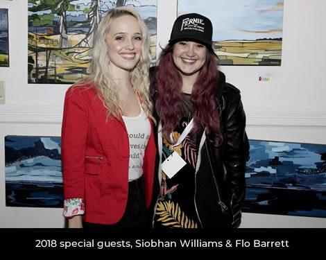 Siobhan Wiliams & Flo Barrett