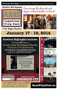 Reel Canadian Film Festival Poster 2014