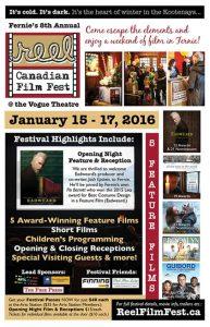 Reel Canadian Film Festival Poster 2016