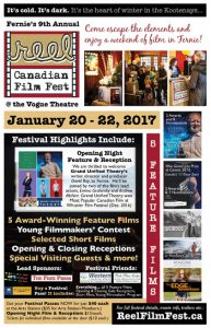 Reel Canadian Film Festival Poster 2017