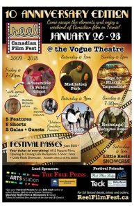 Reel Canadian Film Festival Poster 2018