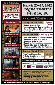 Reel Canadian Film Festival 2011 Poster