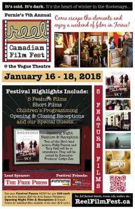 Reel Canadian Film Festival Poster 2015