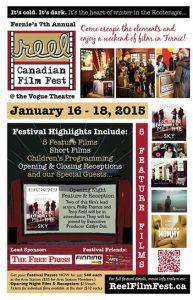 Reel Canadian Film Festival 2015 Poster